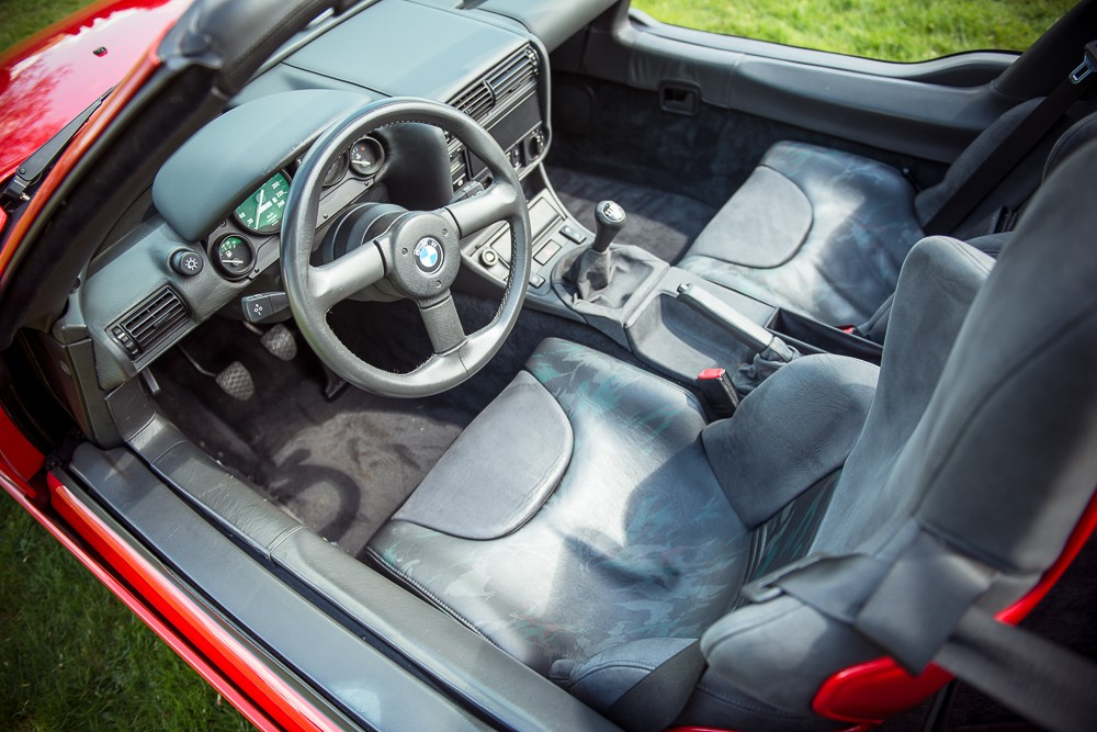 1990 BMW Z1. Image via Silverstone Auctions.