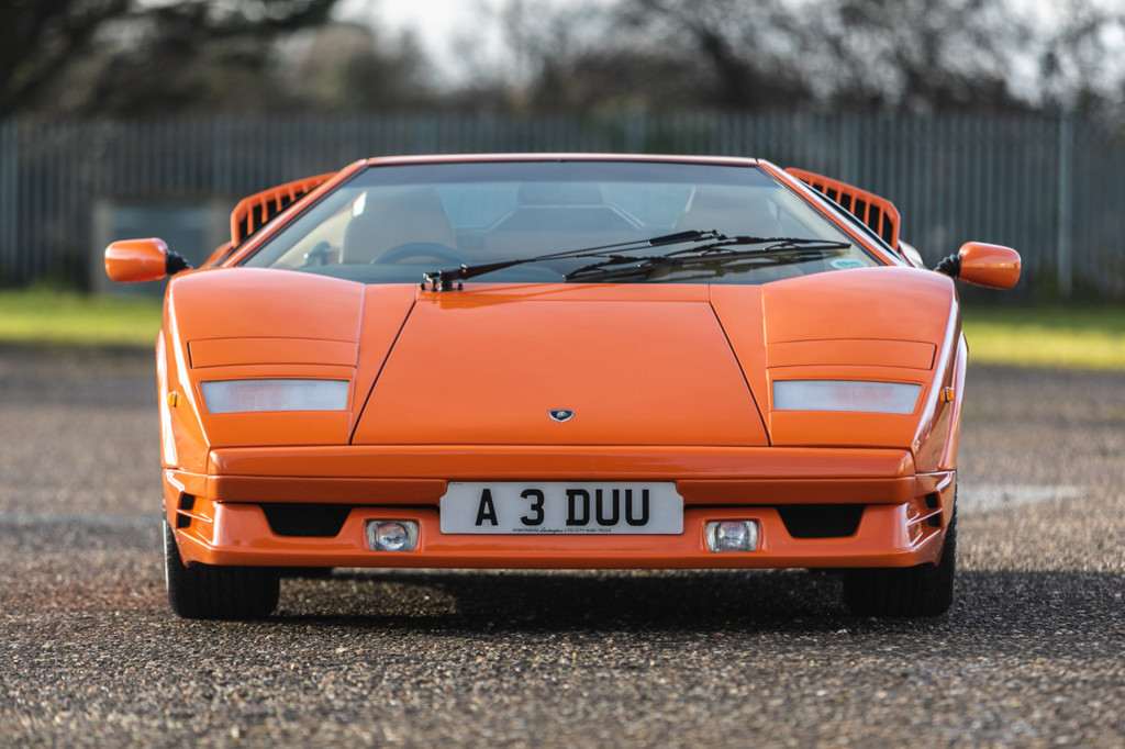 One-owner Lamborghini Countach 25th Anniversary Edition heads to auction
