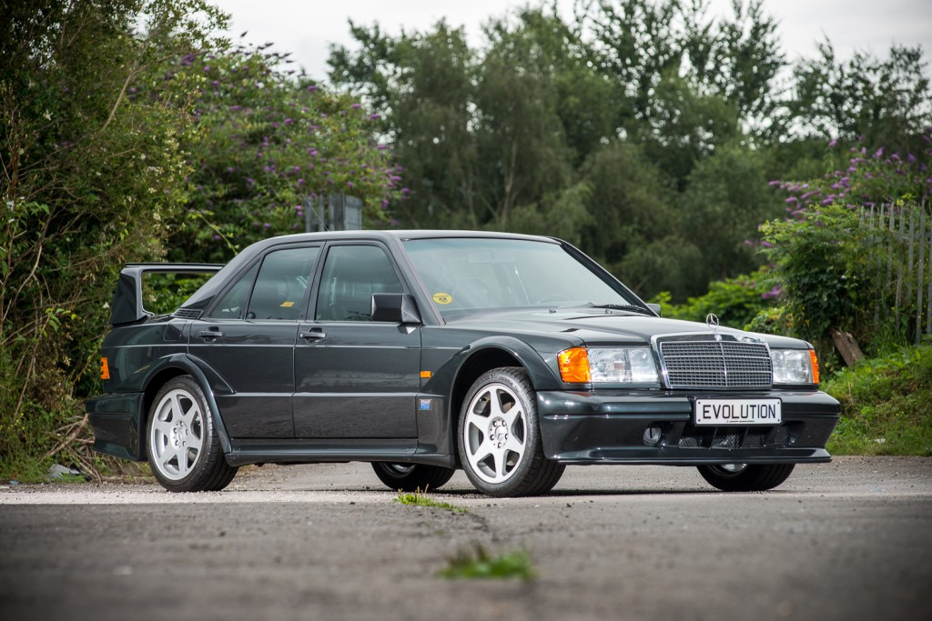 1990 Mercedes-Benz 190E Evo II heads to auction