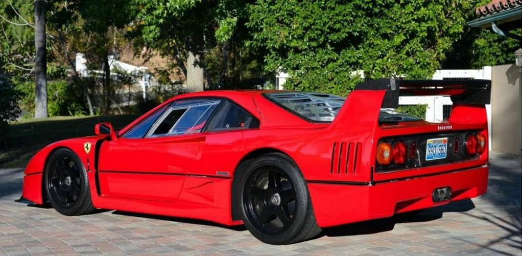 Image: 1992 Ferrari F40 converted to LM spec. Images via Hemmings ...