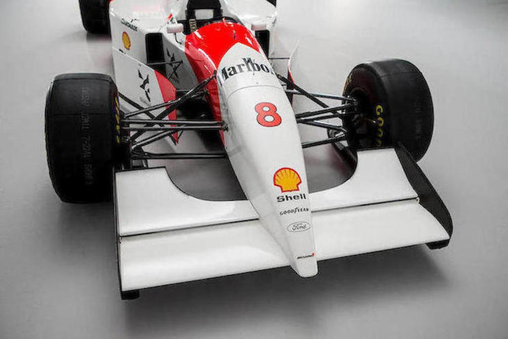 Bernie Ecclestone pays $5M for Senna's race-winning McLaren Formula 1 car