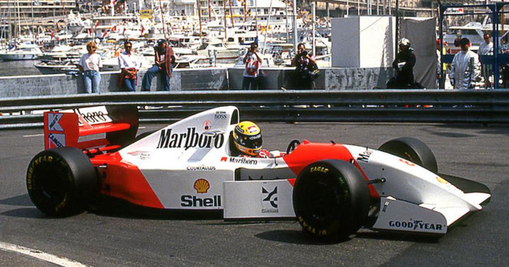 Senna's race-winning McLaren Formula 1 car heads to auction