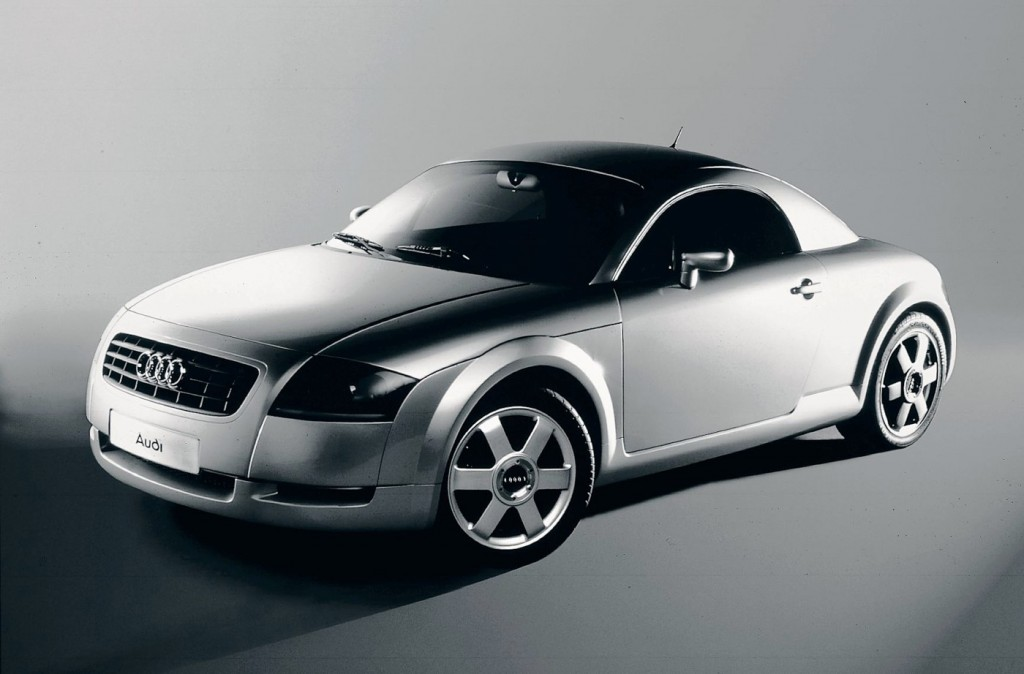 Audi Tt Exhibition The History Of Audis Iconic Coupe