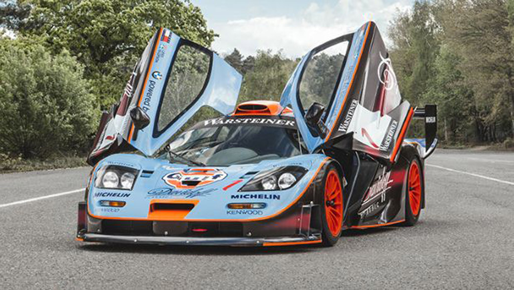mclaren  gtr  sponsored  top gear   sale