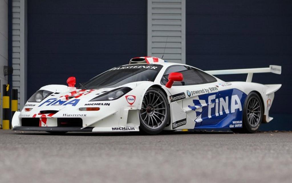 McLaren F1 GTR Longtail Race Car Heads To Scottsdale Auction