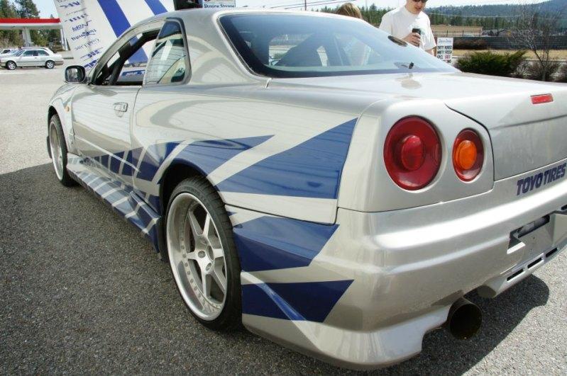 1999 Nissan Skyline GT R R34 From U00272 Fast 2 Furiousu0027