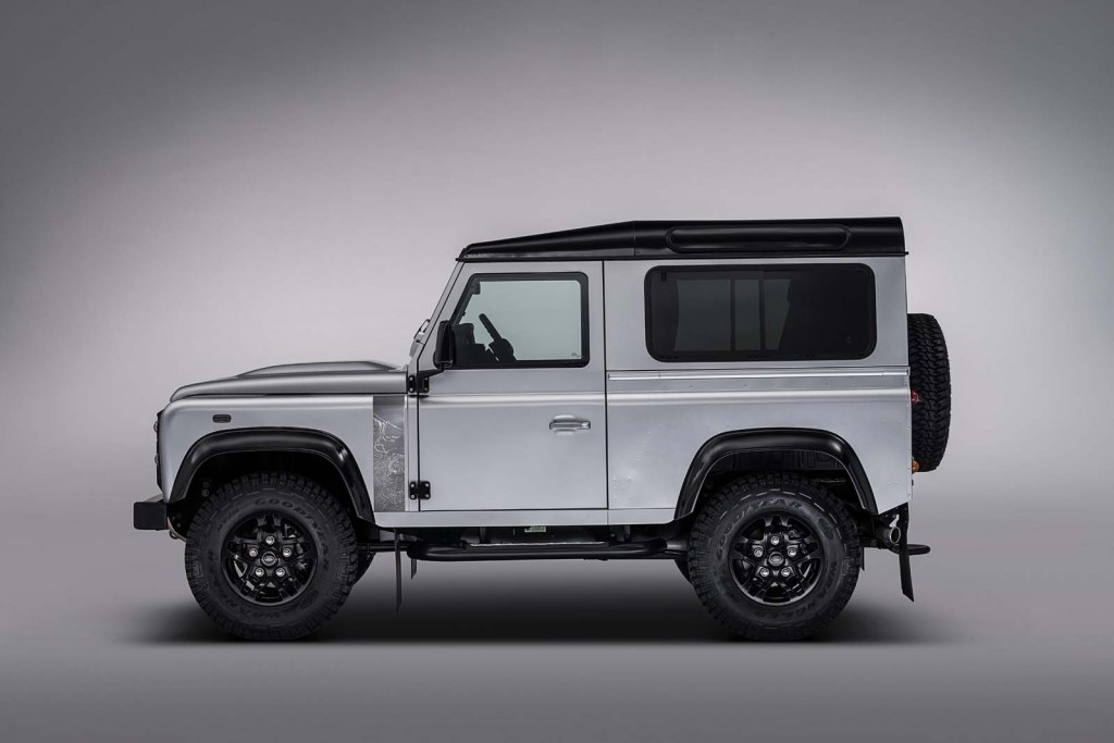 2,000,000th Land Rover Defender