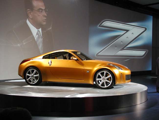 2001 Nissan Z Concept, Detroit Auto Show