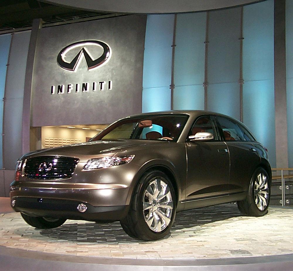 Image: 2002 Infiniti FX45 Concept, Detroit Auto Show, Size