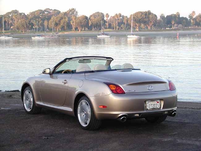 2002 Lexus SC 430 Review, Ratings, Specs, Prices, and Photos - The