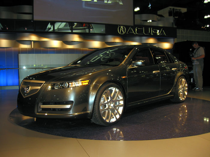 2003 Acura TL A-Spec concept