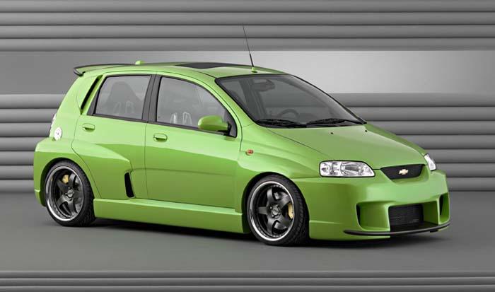 2003 Chevrolet Aveo EXTREME SEMA concept