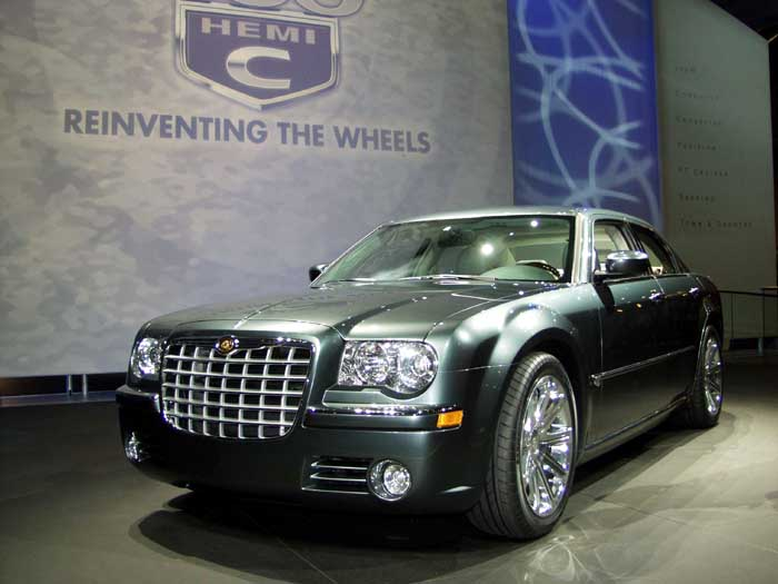 2003 Chrysler 300C Concept, New York Auto Show