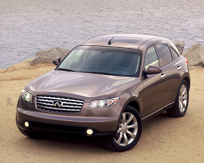 2003 Infiniti Fx45 Review Ratings Specs Prices And Photos The