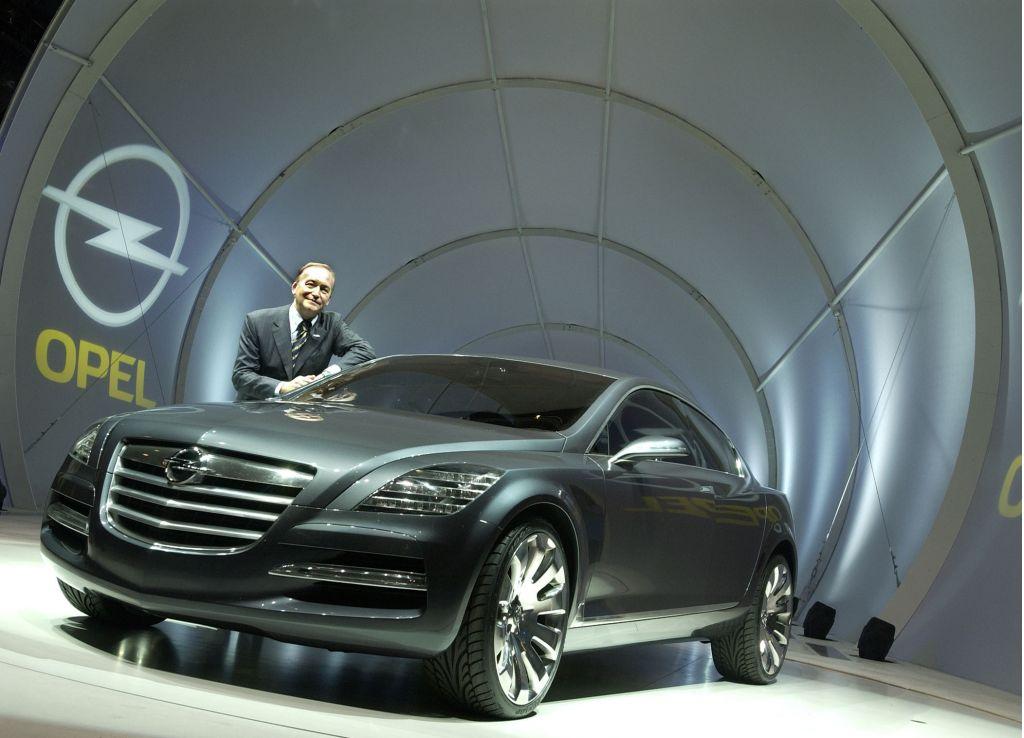 2003 Opel Insignia concept, Frankfurt Auto Show