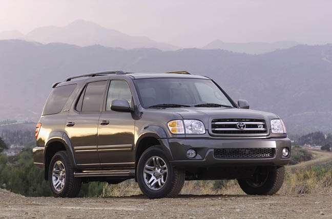 recall alert 2003 toyota sequoia. Black Bedroom Furniture Sets. Home Design Ideas
