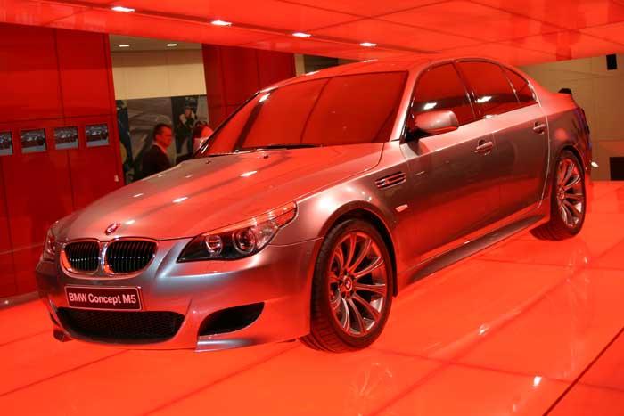 Image: 2004 BMW M5 Concept, Geneva Motor Show, size: 700 x 467, type ...