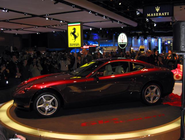 2004 Ferrari 612 Scaglietti, Detroit Auto Show