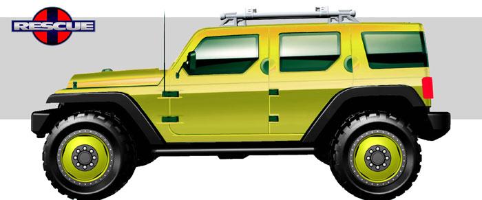 2004 Jeep Rescue concept
