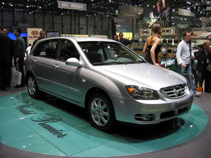 2004 Kia Cerato, Geneva Motor Show