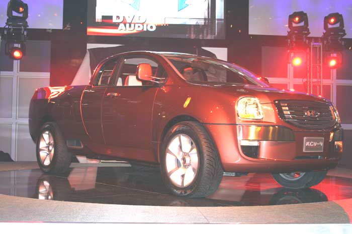 2004 Kia Mojave concept