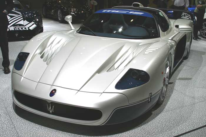 2004 Maserati MC12 Stradale, Geneva Motor Show