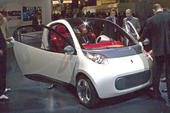 2004 Pininfarina Nido concept, Paris Auto Show