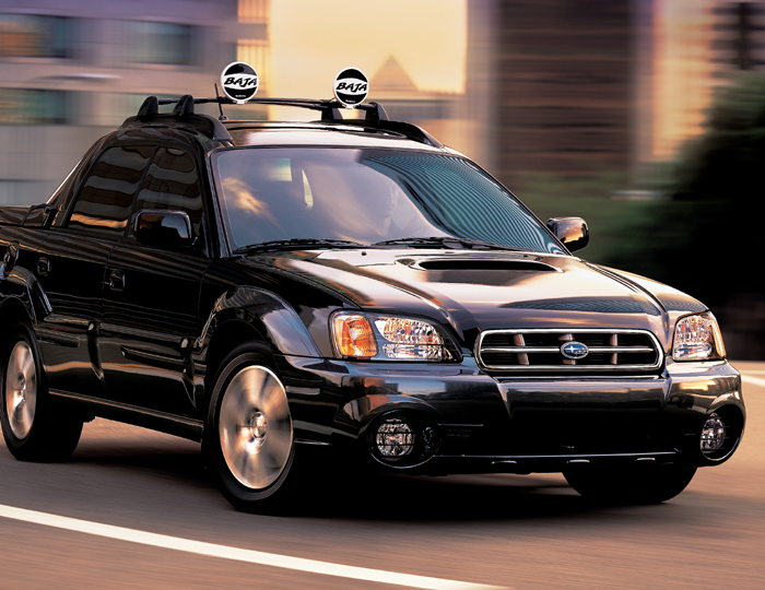 Minivans For Sale >> 2004 Subaru Baja (Natl) Review, Ratings, Specs, Prices, and Photos - The Car Connection
