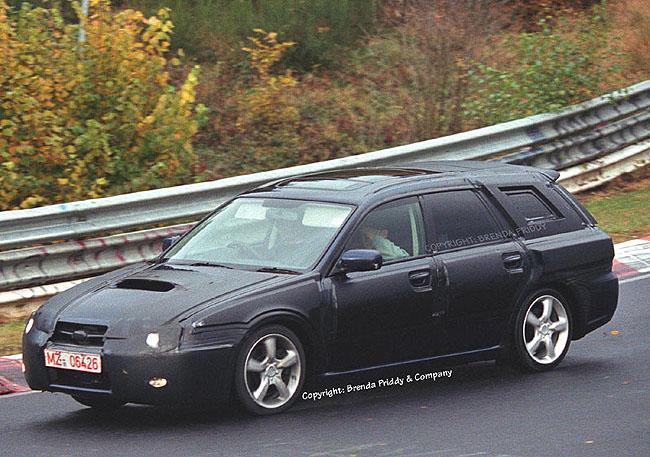 2004 Subaru Legacy spy shot