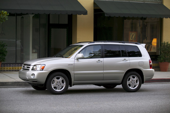 2004 Toyota Highlander Review Ratings Specs Prices And Photos The Car Connection