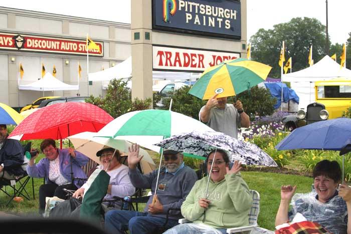 2004 Woodward Dream Cruise - Rain