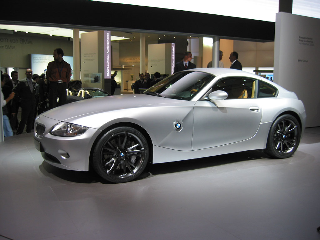 Image 2005 Bmw Z4 Coupe Concept Size 1024 X 768 Type Gif Posted On September 12 2005 6