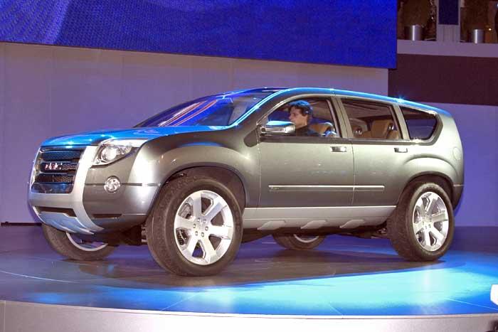 2005 GM Graphyte Concept,  Detroit Auto Show