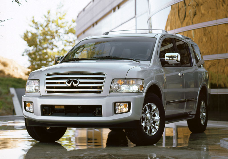 2005 Infiniti Qx56 Review Ratings Specs Prices And Photos The Car Connection