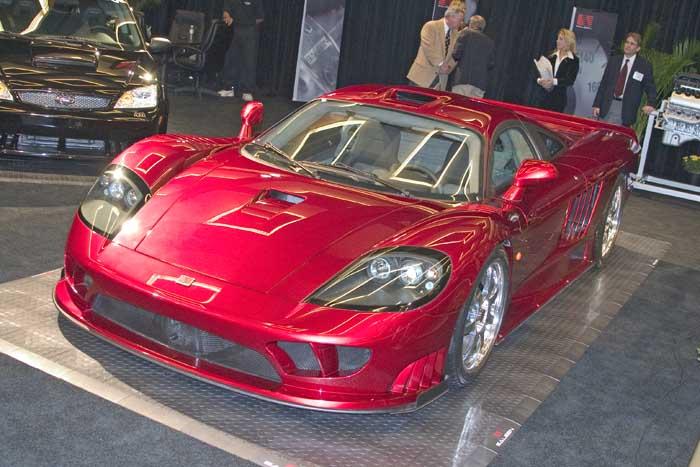 2005 Saleen S7 Twin Turbo, Los Angeles Auto Show