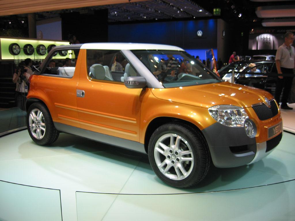 Image: 2005 Skoda Yeti concept, Frankfurt Auto Show, size: 1024 x ...