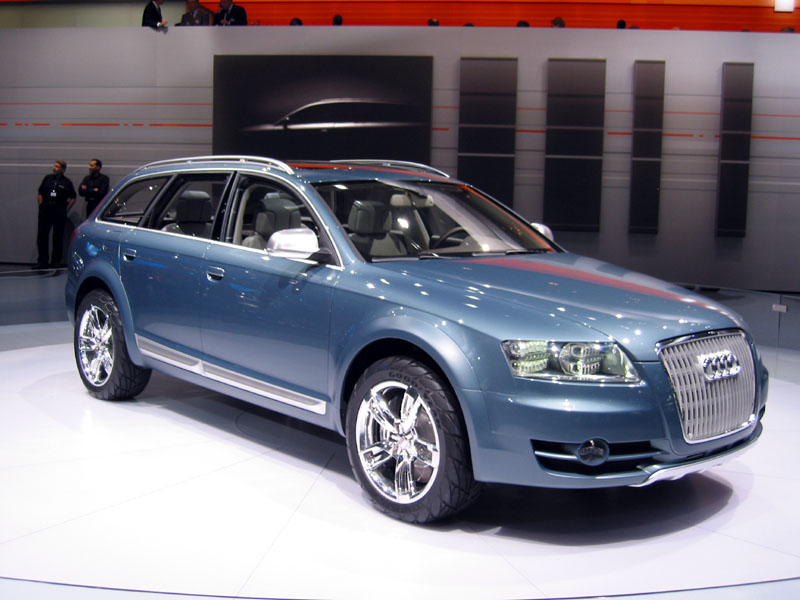 Image 2006 Audi Allroad Concept Size 800 X 600 Type Gif Posted On December 31 1969 4 00 Pm The Car Connection