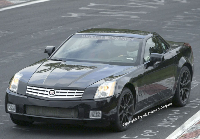 Spy Shots: '06 Cadillac XLR-V - The Car Connection