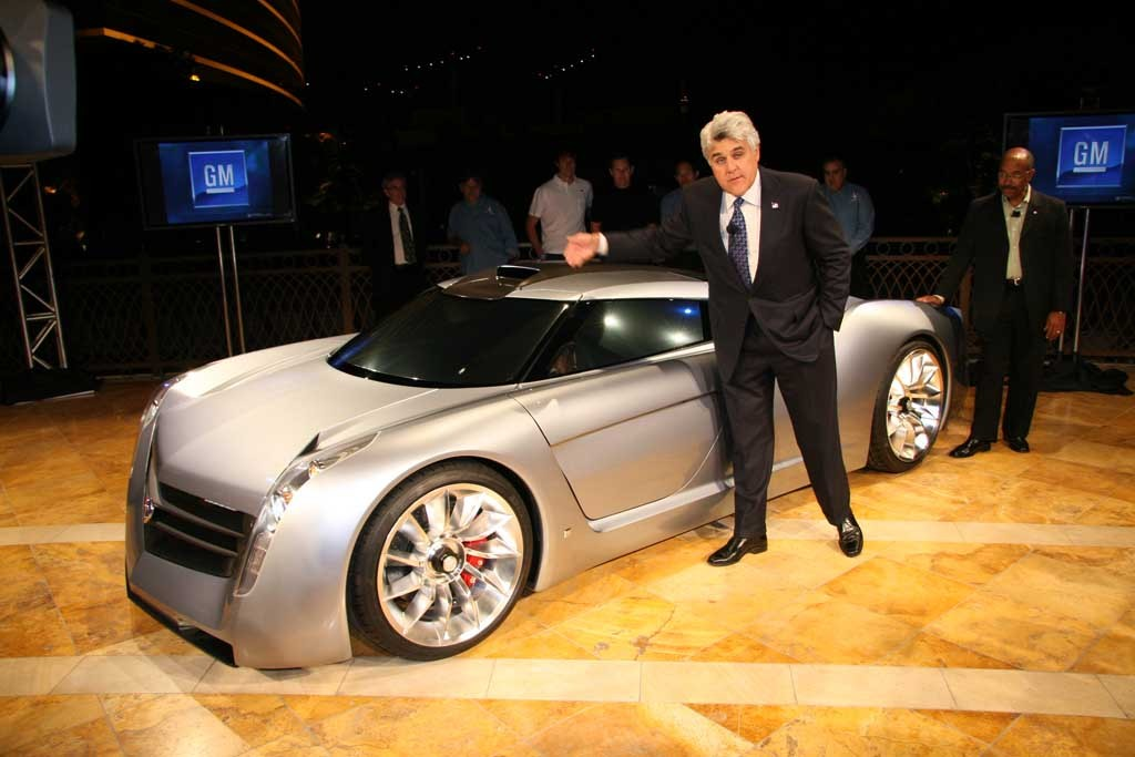 Jay leno s 2006 ecojet concept makes appearance at all gm show for Self auto niortais garage automobiles niort