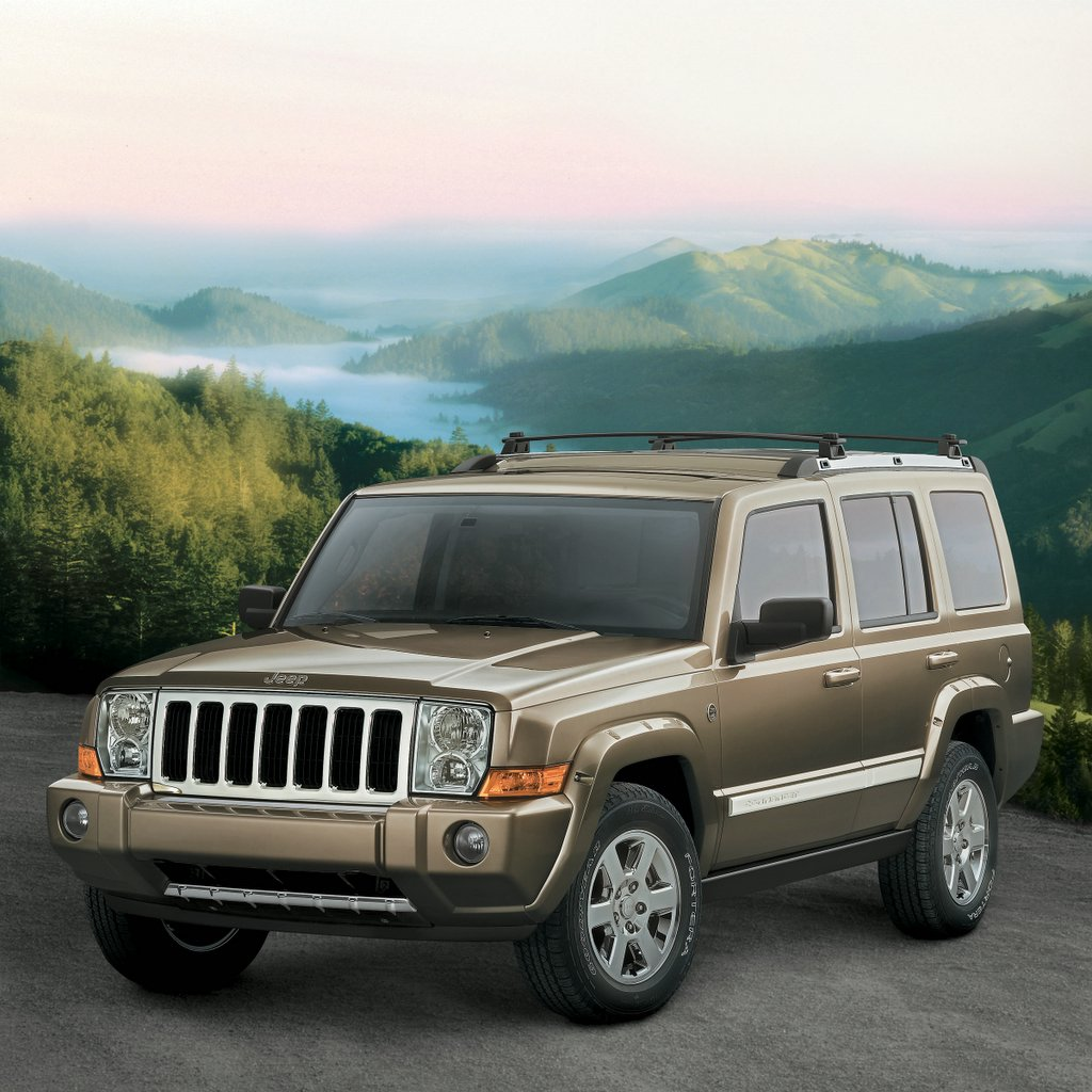 2006 jeep commander review, ratings, specs, prices, and photos