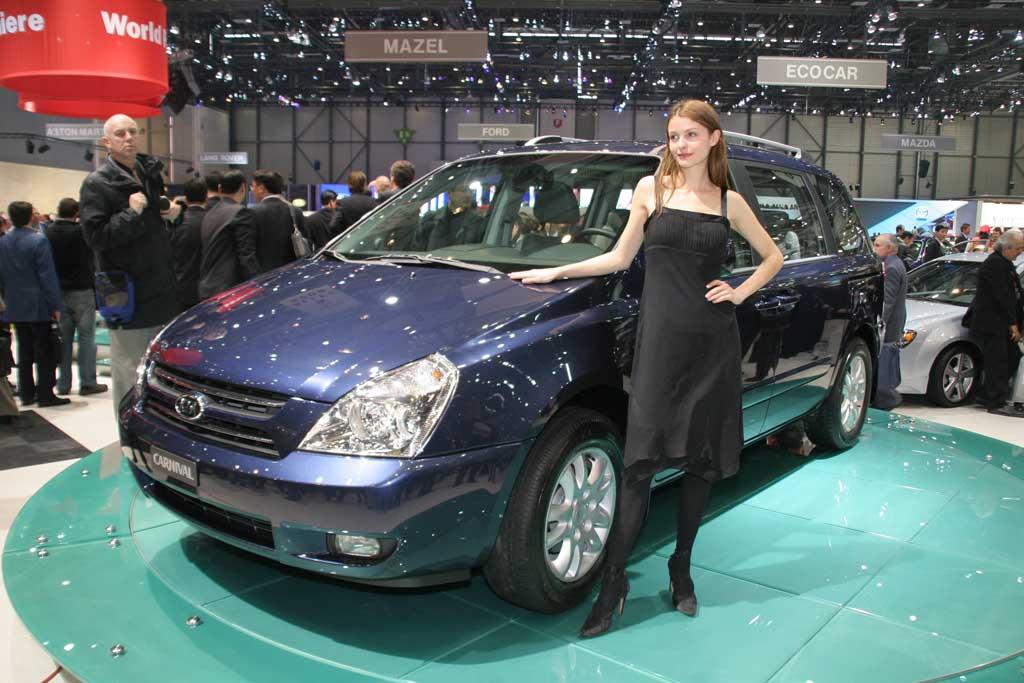 2006 Kia Carnival, Geneva Motor Show
