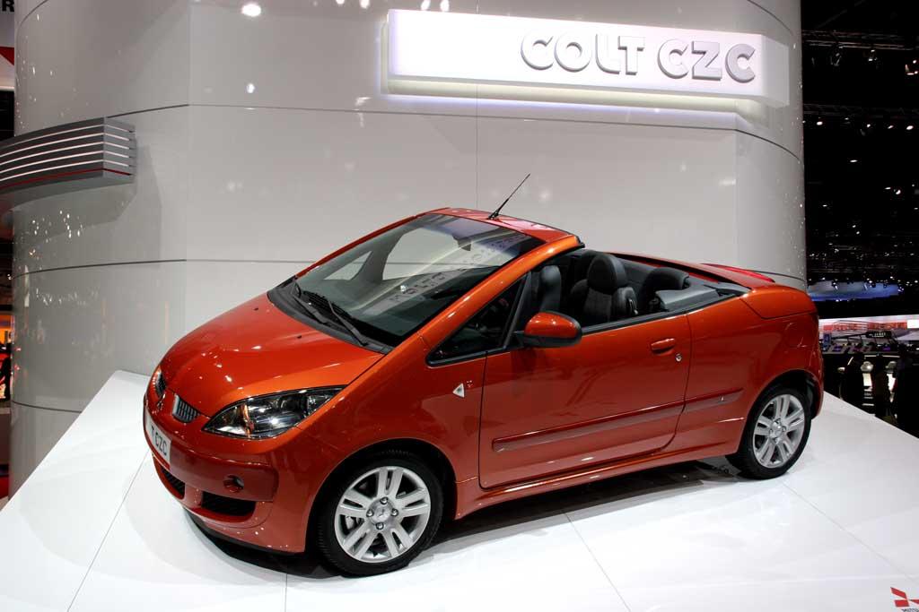 2006 Mitsubishi Colt CZC, Geneva Motor Show