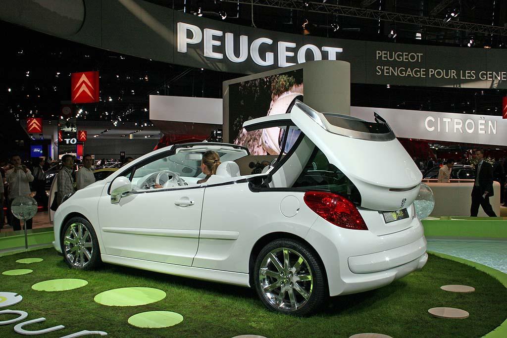 2006 Peugeot Epure concept, Paris Auto Show
