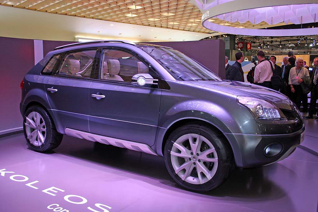 2006 Renault Koleos concept, Paris Auto Show