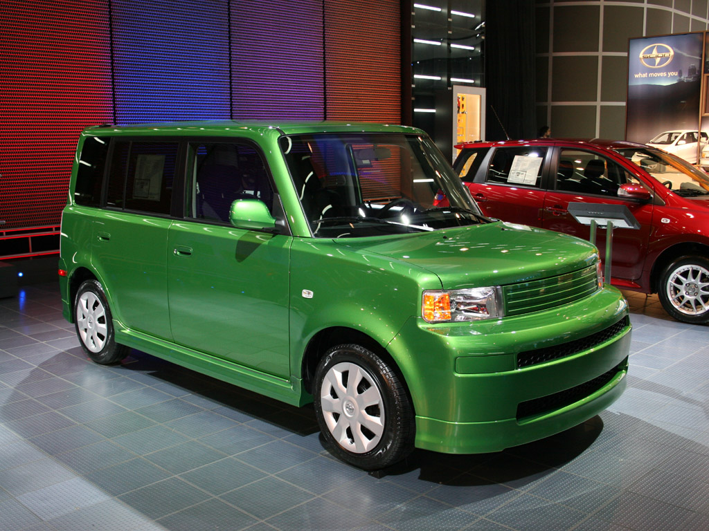 image 2006 scion xb release series 3 0 detroit auto show. Black Bedroom Furniture Sets. Home Design Ideas