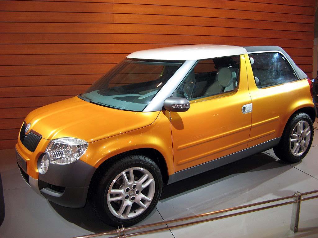 2006 Skoda Yeti, Beijing Auto Show