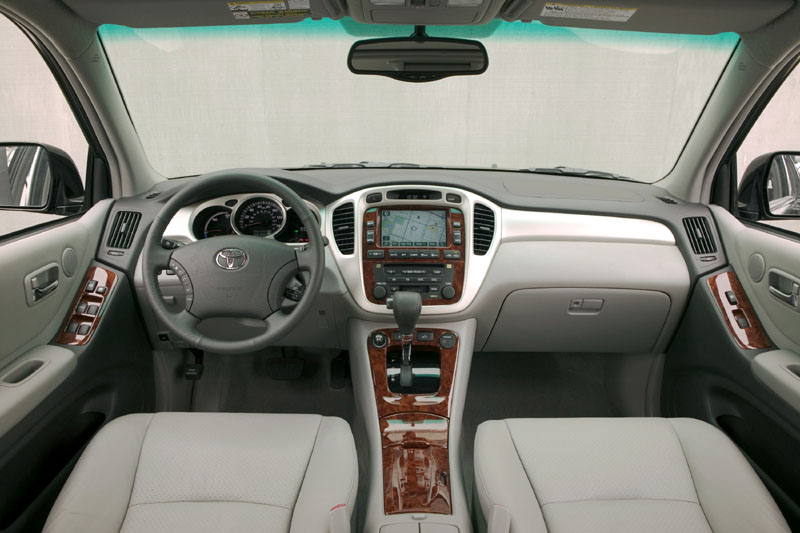 2006 Toyota Highlander Hybrid Engine