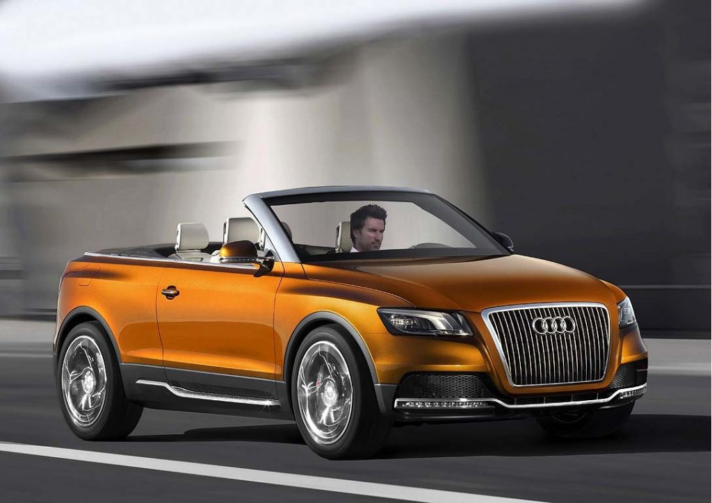 audi cross cabriolet headed for production?