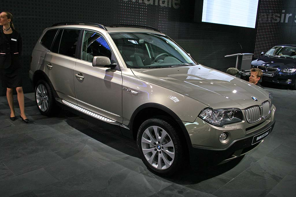 2007 BMW X3, Paris Auto Show