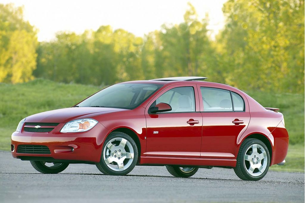 2005-2007 Chevrolet Cobalt, 2007 Pontiac G5 Recalled For Faulty